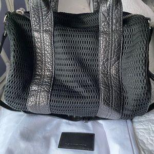 Alexander wang limited mesh Rocco bag